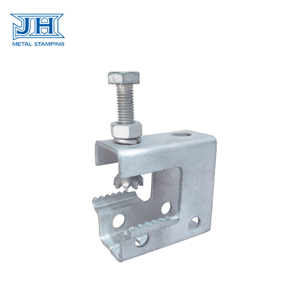 Customized Bracket Construction Hardware Stamping Metal C Clamp Locknut